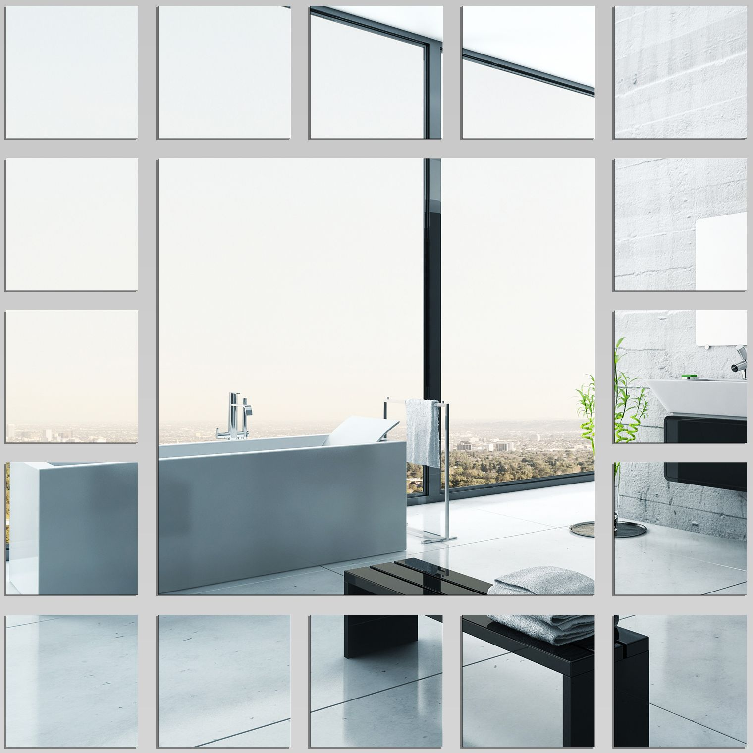 Square - Decorative Mirrors Acrylic | Updating house ...