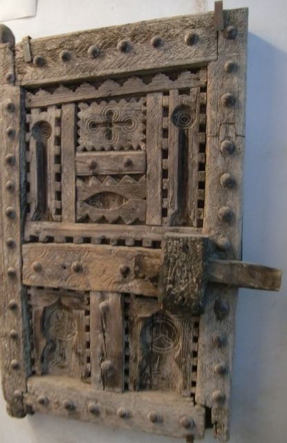 Old Moroccan African Door Picture Taken During Visit At