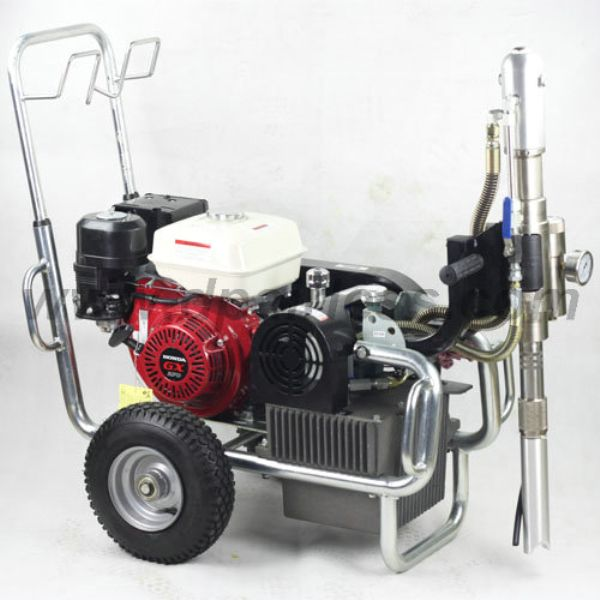 Dp 9600 Hydraulic Airless High Pressure Spraying Unit Petrol Powered Paint Sprayer The Unit Sprayers
