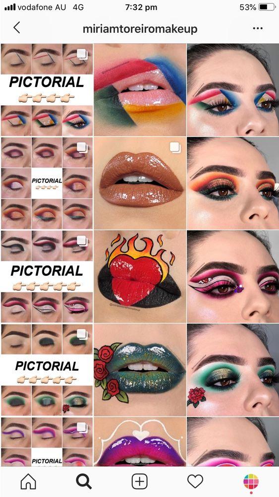 Best Instagram Feed ideas for Makeup Artists Anuncios de