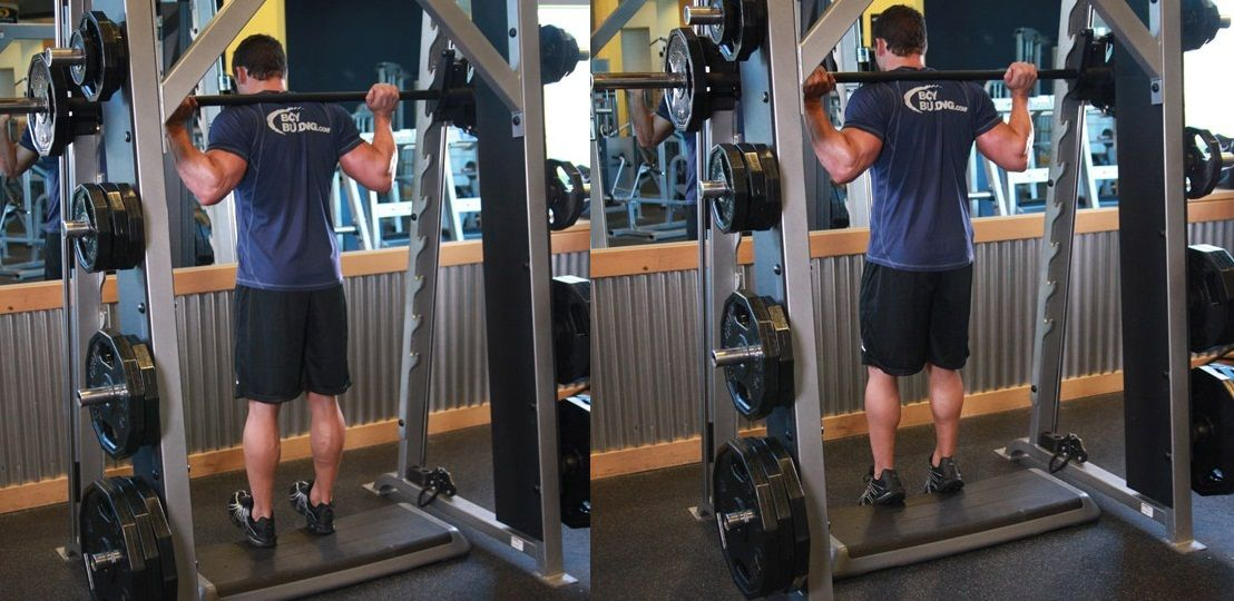 Smith Machine Calf Raises