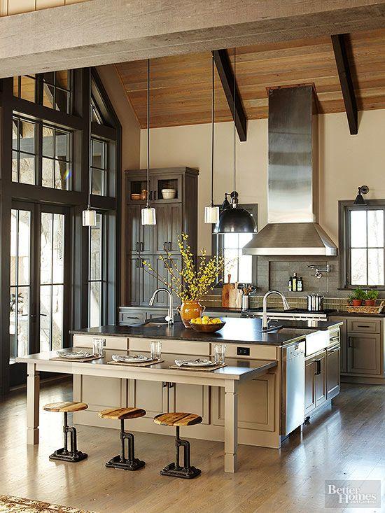 warm kitchen design Warm Kitchen Color Schemes | Dream Home Ideas | Warm kitchen colors, Kitchen colour schemes
