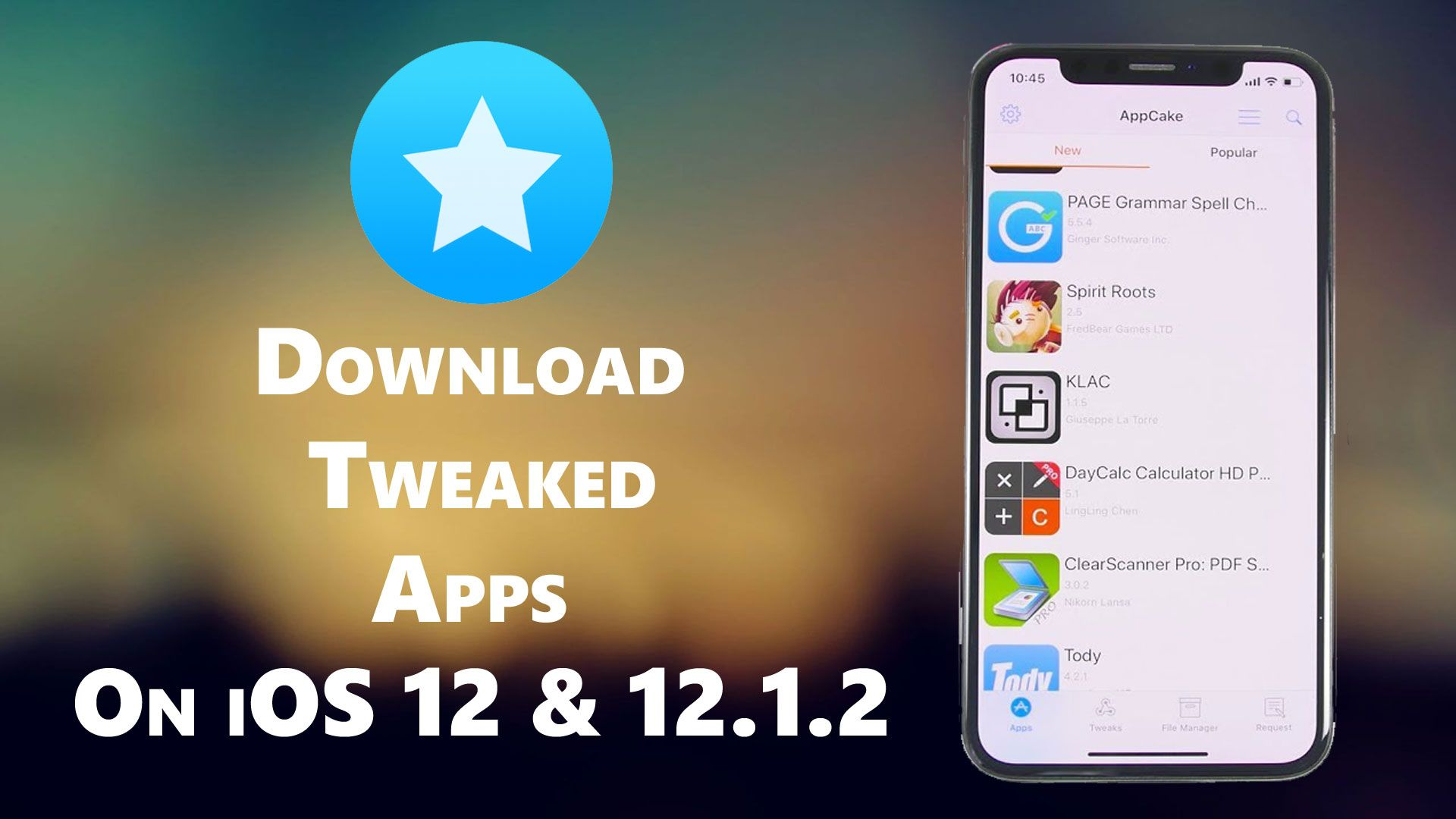 How to download tweaked apps on iOS 12 & 12.1.2 device