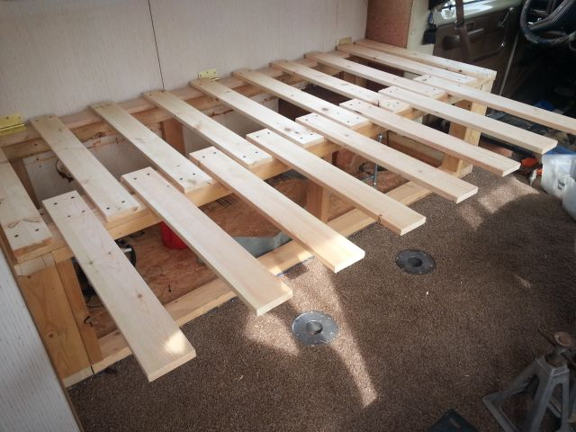 This Phase 2 Of The Slide Out Bed Adding The Sliding