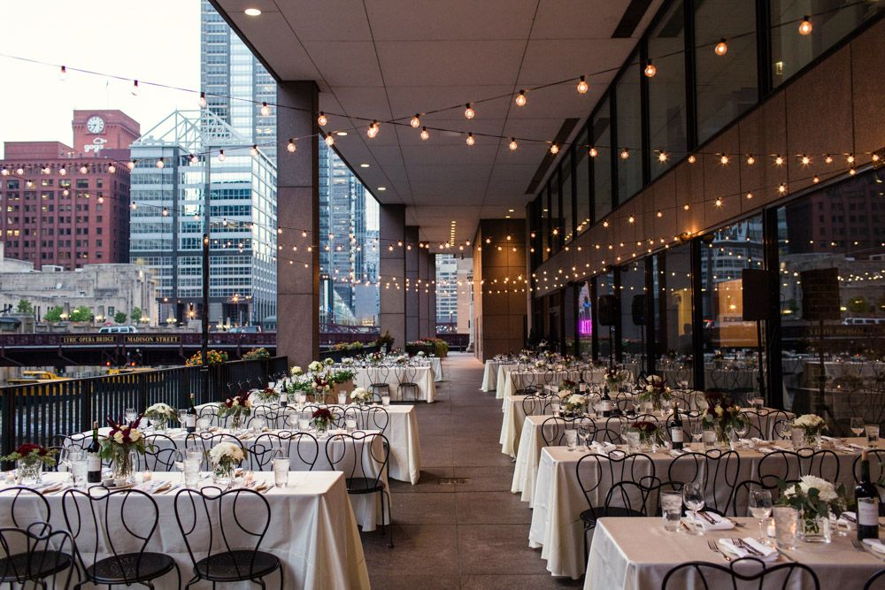 Downtown Chicago Wedding At Rivers Restaurant By My Photography