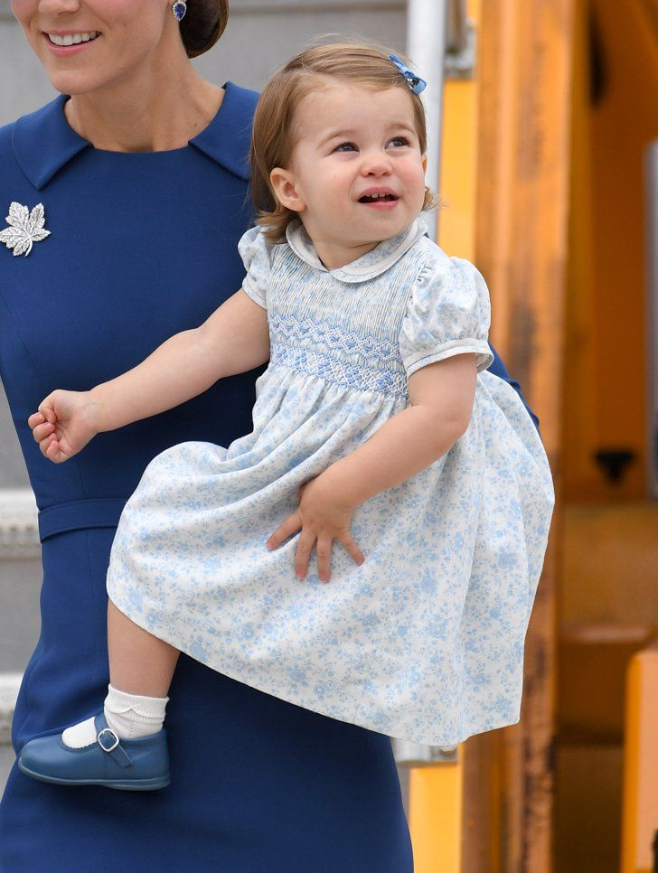 Princess Charlotte Handled Her First Royal Tour Like a Tiny Pro