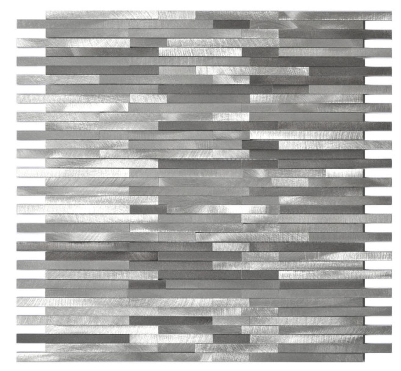 Bathroom Tile So Nice Http Www Houzz Com Photos 4742398 Gray Blends Aluminum Mosaic Tile Contemporary Mosaic T Metal Mosaic Tiles Mosaic Tiles Tile Trends