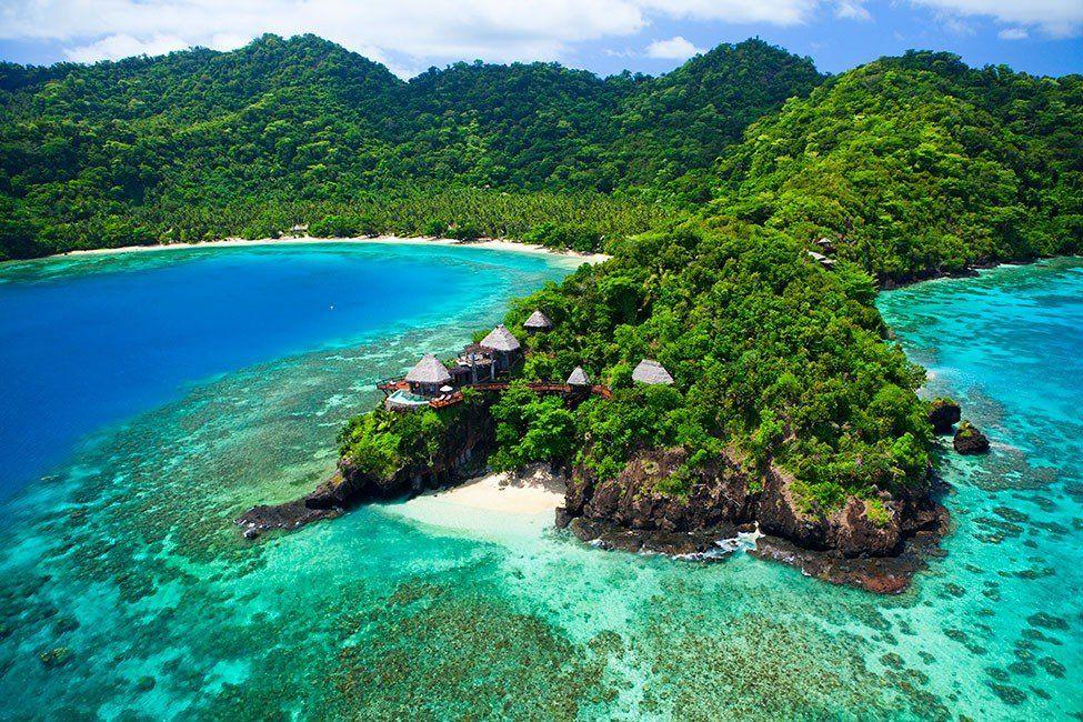 Отель Laucala на Fiji
