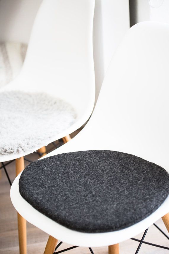 eames chair cushion yard chairs plastic seat for in anthracite ally cushions suitable limited