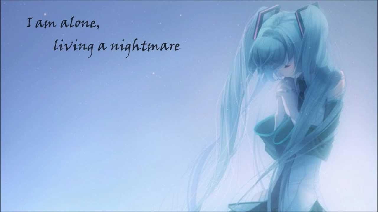 Hatsune miku cant i even dream nightmare translyrics