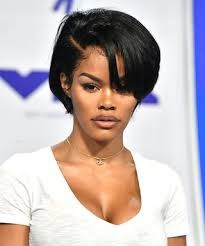 Image Result For Teyana Taylor Orange Bob Womens Hairstyles Hair Styles Haircut Styles For Women