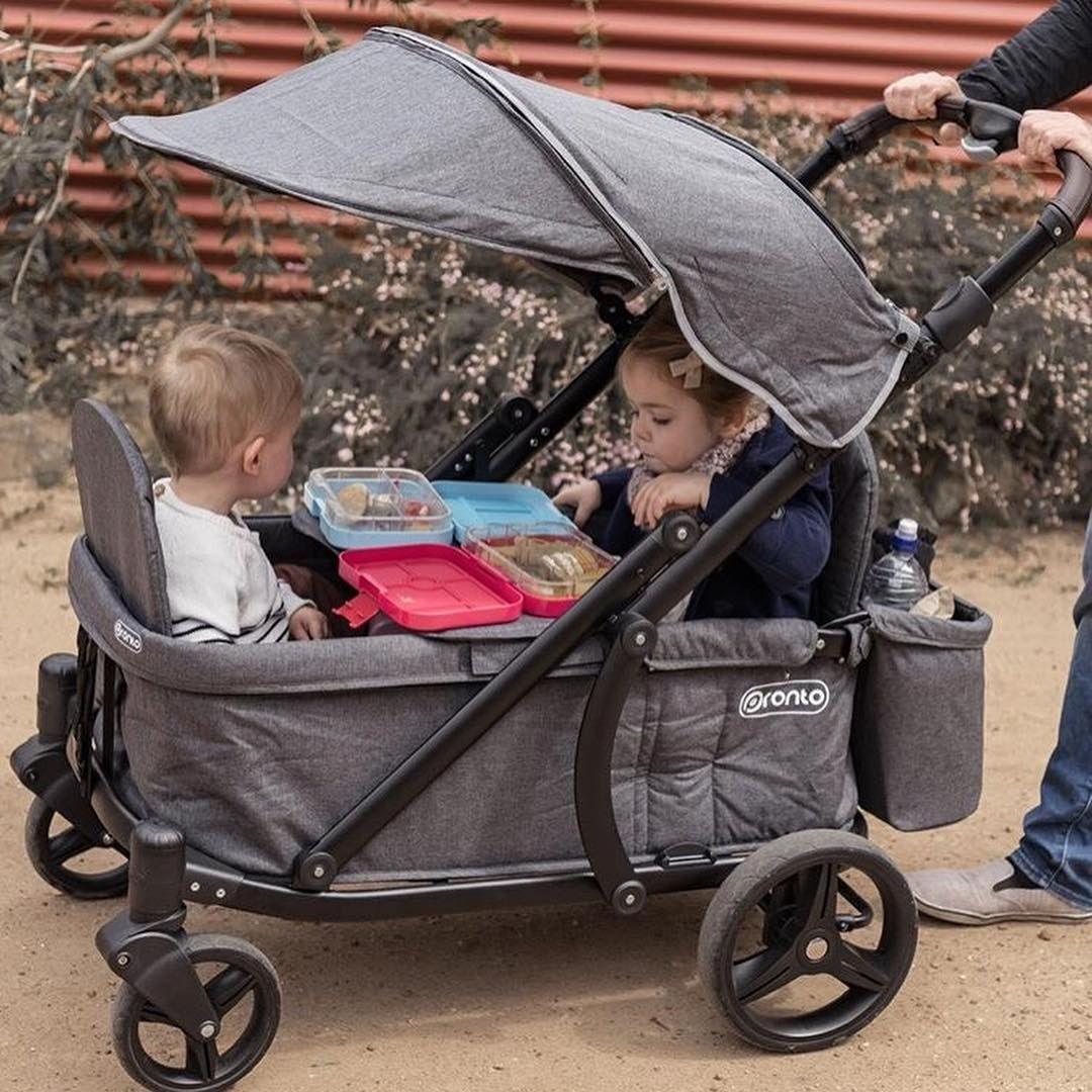 Keenz 7s Stroller Wagon Grey