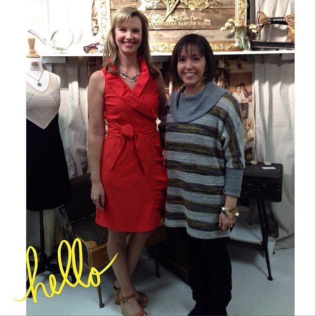 Sarah, owner of Serendipity, met Missy Robertson, designer of Missy Robertson by Southern Fashion House. We'll have her line at Serendipity this spring!