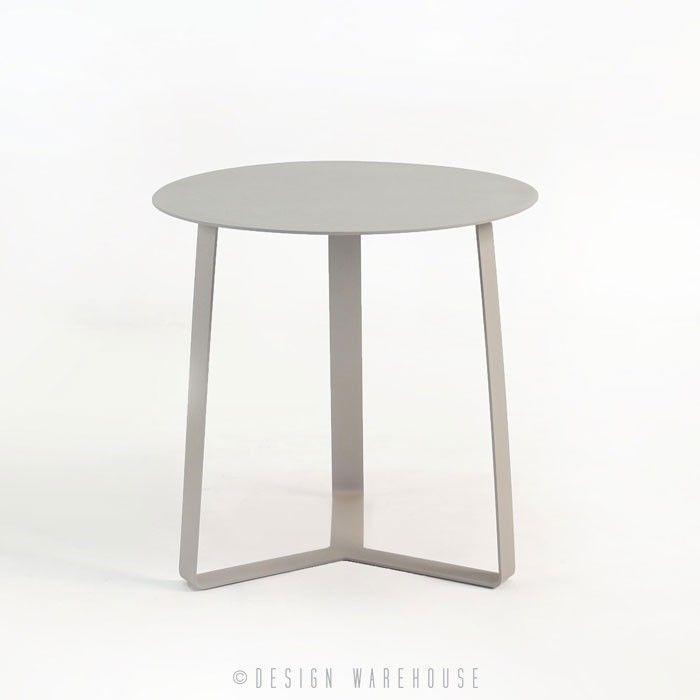 Chicago Aluminum End Table | Design Warehouse NZ