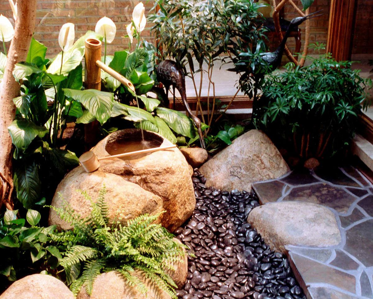 Japanese Garden Designs For Small Spaces court yard designs   home interior, courtyard design