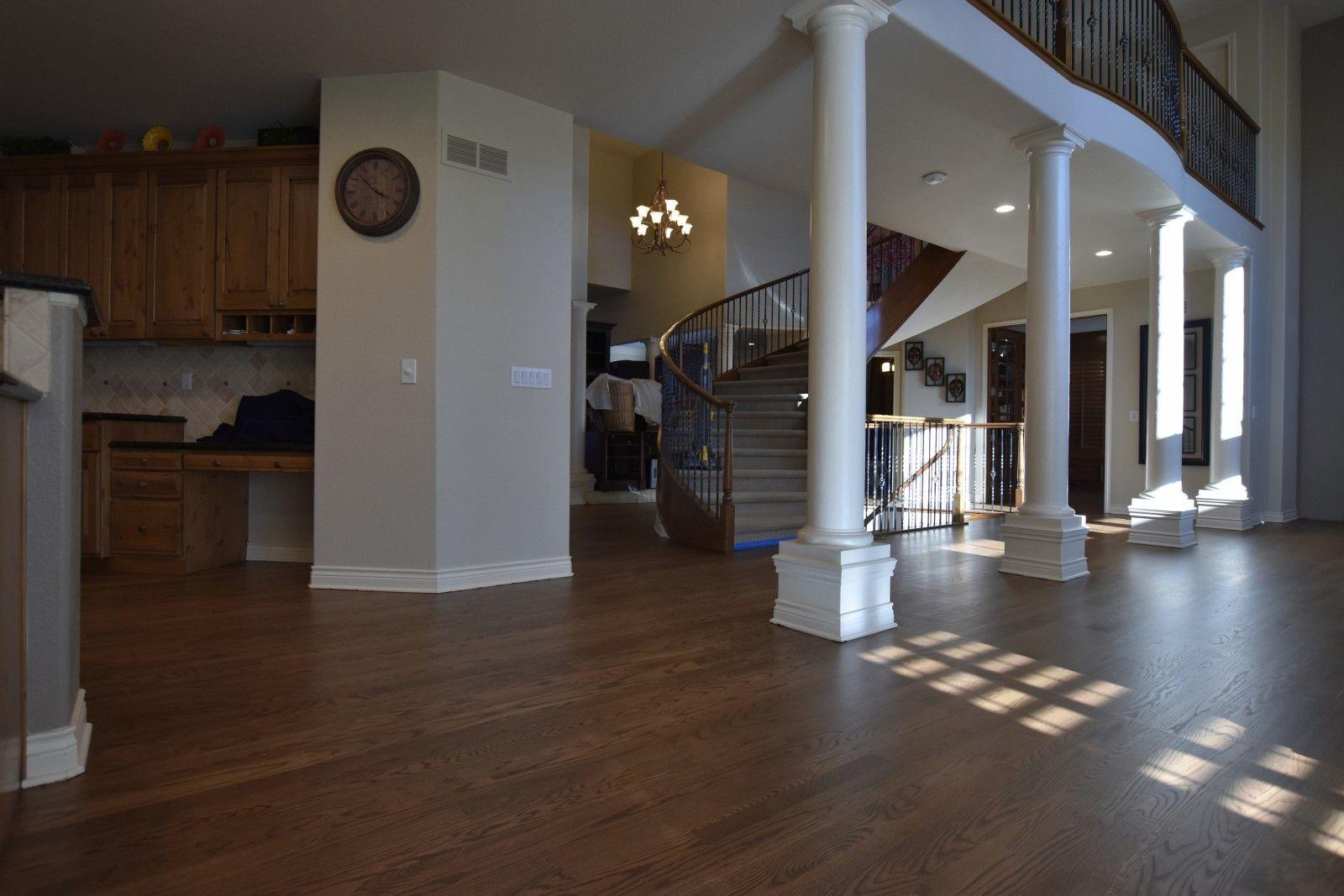 Medium Brown Stain On Red Oak Wood Floor Oak wood floors