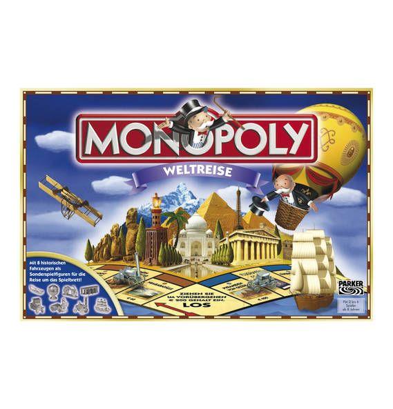 Günstig Online Entdecken Hasbro Monopoly Weltreise Von Hasbro Bei