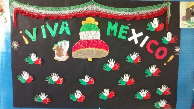 Friso mexicano manualidades escolares pinterest for Puertas decoradas para el 16 de septiembre