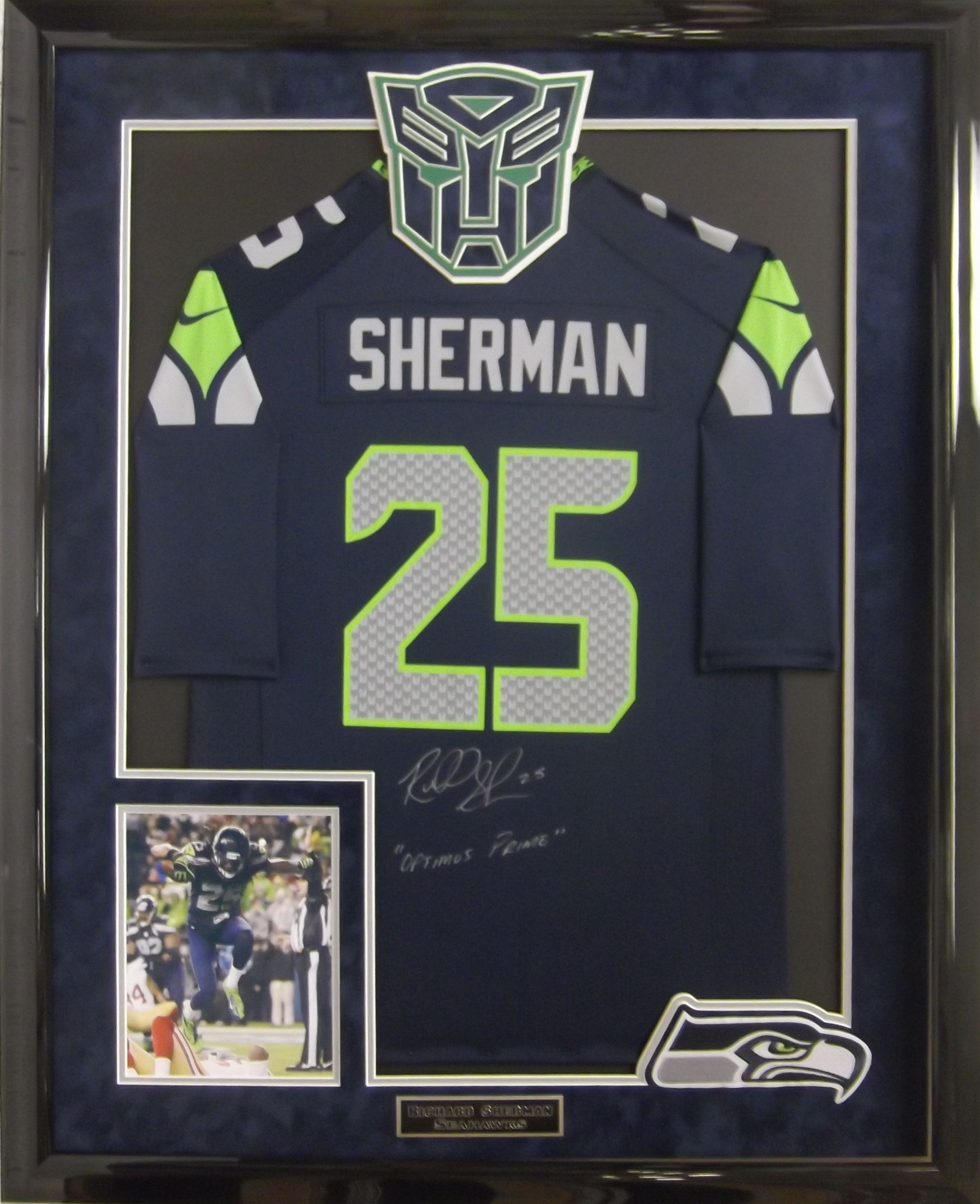 richard sherman signed jersey