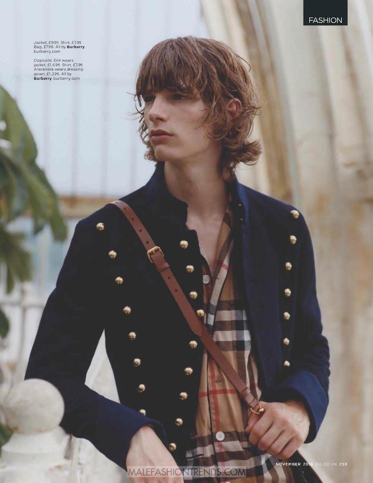 Male Fashion Trends: Alex Dragulele y Erik por Michael Henry