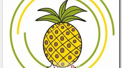 طريقة رسم الاناناس للاطفال خطوة بخطوة Pineapple Drawings Fruit