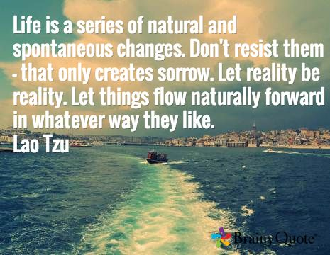Image result for let things flow lao tzu