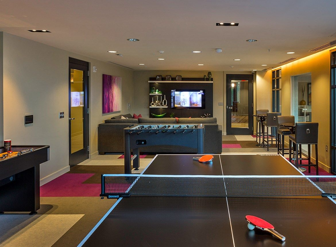 Photos And Video Of Aurora In North Bethesda Md Rec Room Game Room Cool Rooms