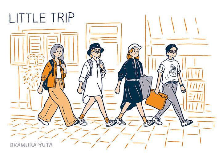Tokyo illustrator Okamura Yuta and his endearing brush-and-ink characters