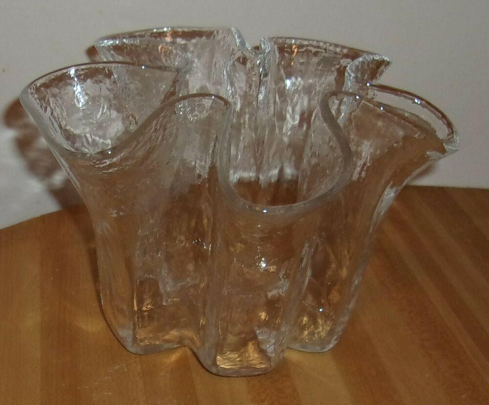 Muurla Finland Eva Handerkerchief Pattern Vase Pertti Kallioinen Design Muurla In 2020 Art Glass Vase Ebay Sale Glass Art