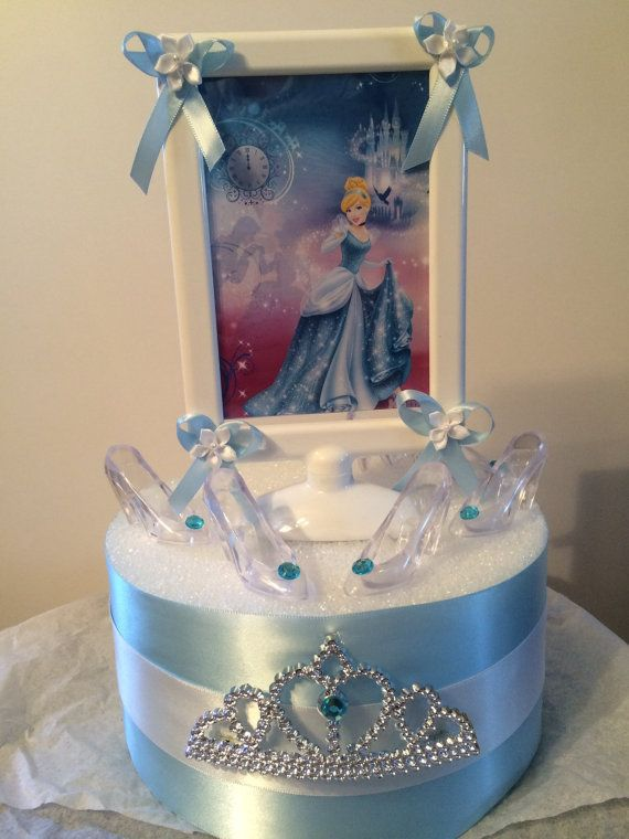 Cinderella Birthday Party Centerpieces By Angilee123 On Etsy