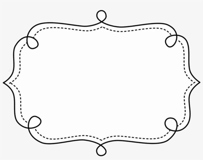 Illustration Text Frame Frame Clipart Page Borders Borders And Doodle Frame Border Png Pngkey Text Frame Etiquetas Em Branco Molde De Plaquinhas Molde Envelope