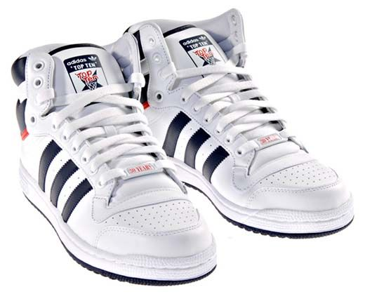 Adidas Top Ten Best B-ball shoes in history!