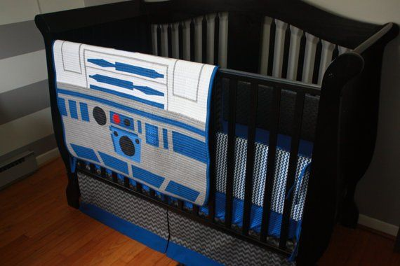Star Wars Crib Set Handmade