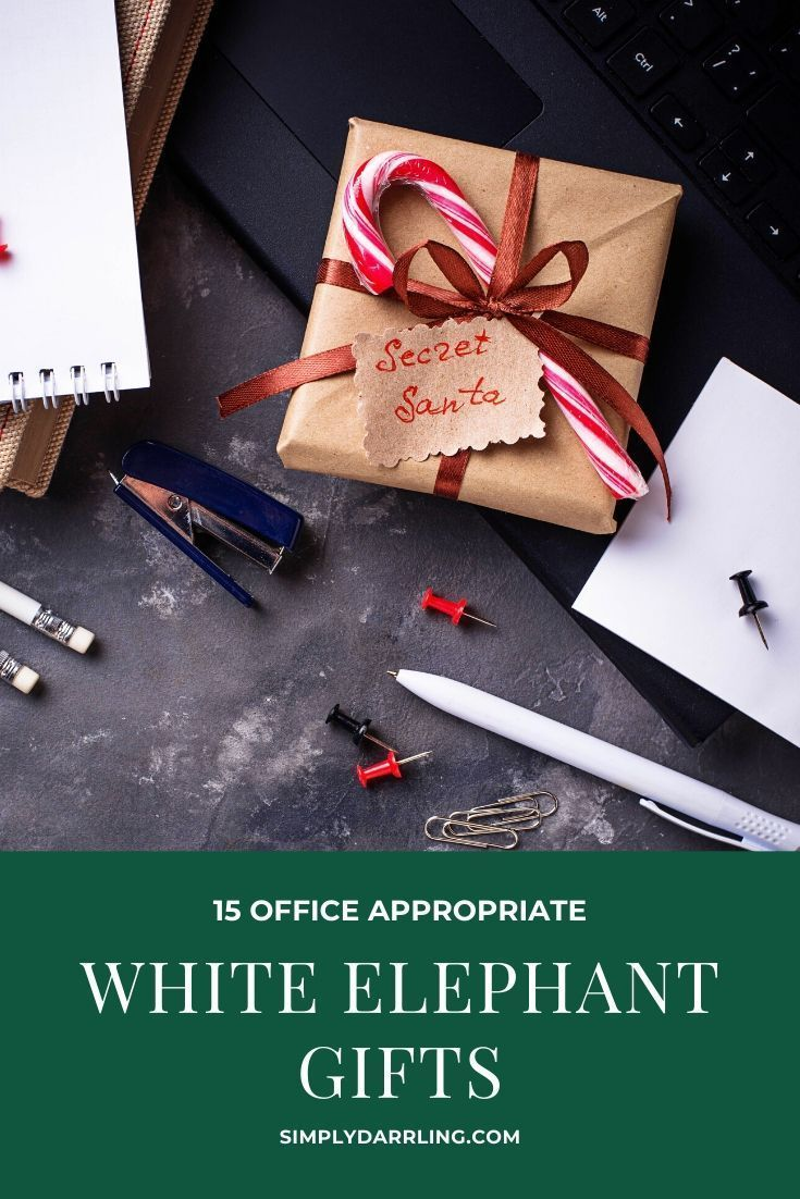 what is a good white elephant gift for work