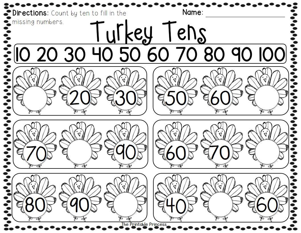 Thanksgiving Centers For Kindergarten Math Amp Literacy