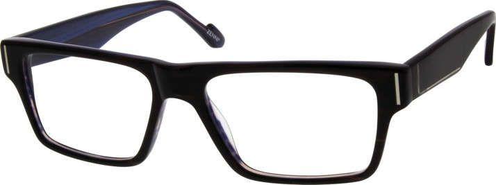 f864e514b72 Black Acetate Full-Rim Frame 639021 Eyeglasses