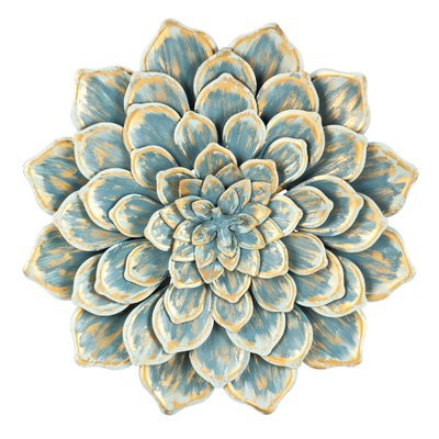 Bungalow Rose Multiple Layer Metal Flower Wall Décor   Pinterest ...