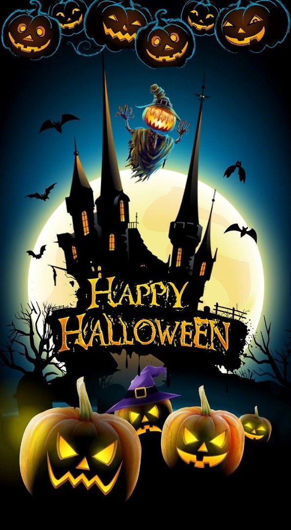 Pin By Judy Vardon On Halloween Halloween Cartoons Halloween House Halloween Wallpaper