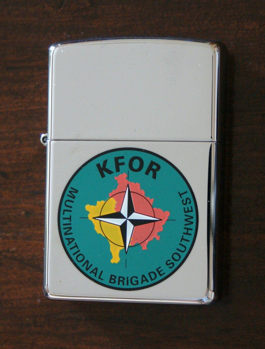 Zippo Kfor Multinatiol Brigade Southwest Zippo Zippo Limited Edition Zippo Lighter