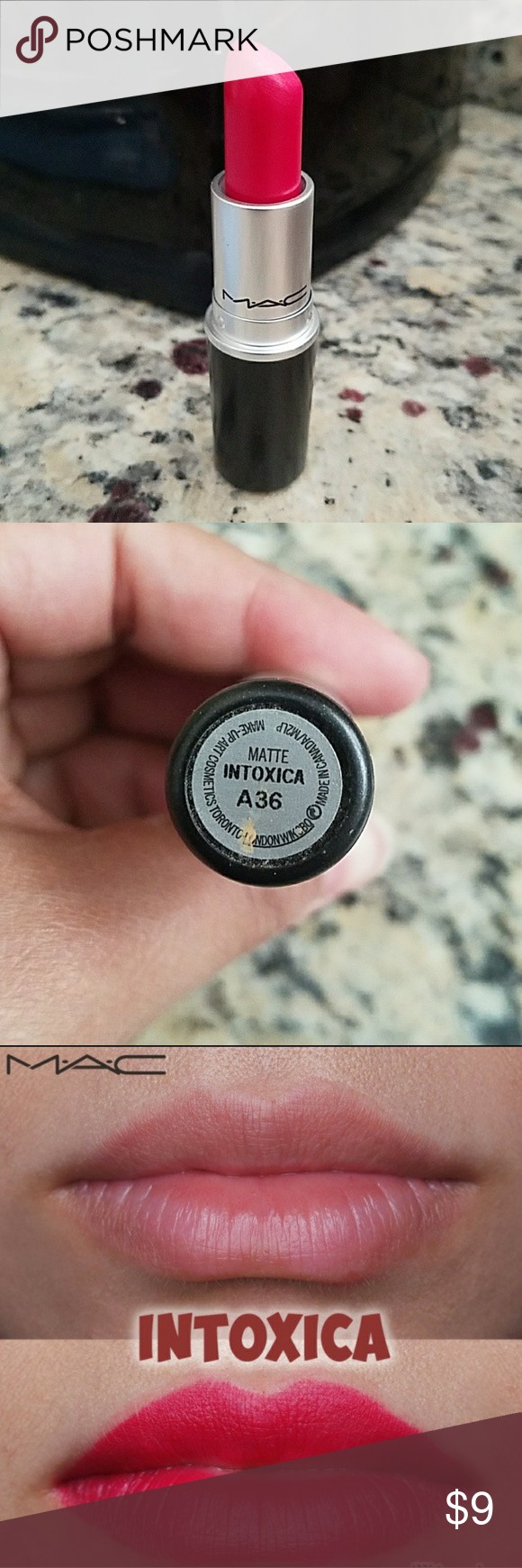 MAC lipstick in Intoxica (Matte) | Mac