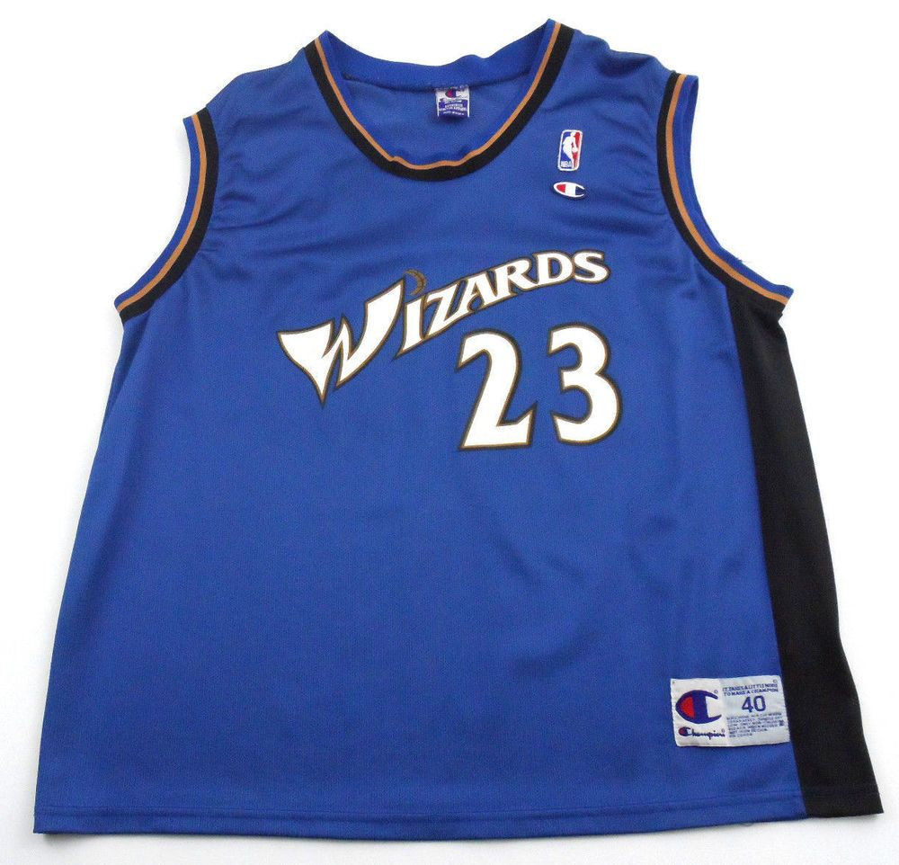 c59fd47a7ff Vintage Michael Jordan Washington Wizards Champion NBA Basketball Jersey 40  M  Champion  WashingtonWizards