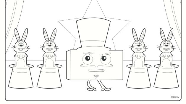 Magician Disney Junior Big Block Sing Song Party Pinterest