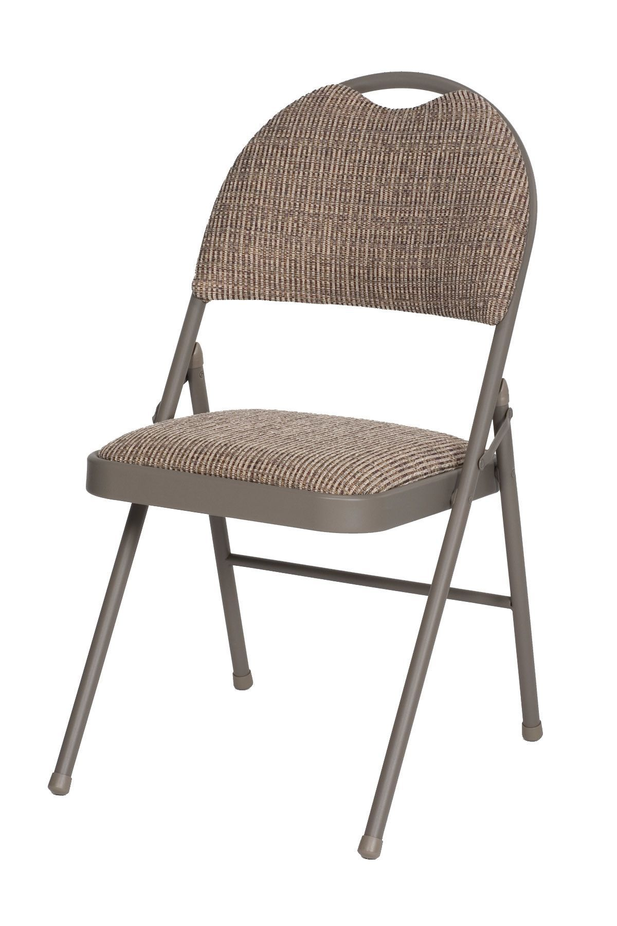 Double fabric padded folding chair folding chair padded