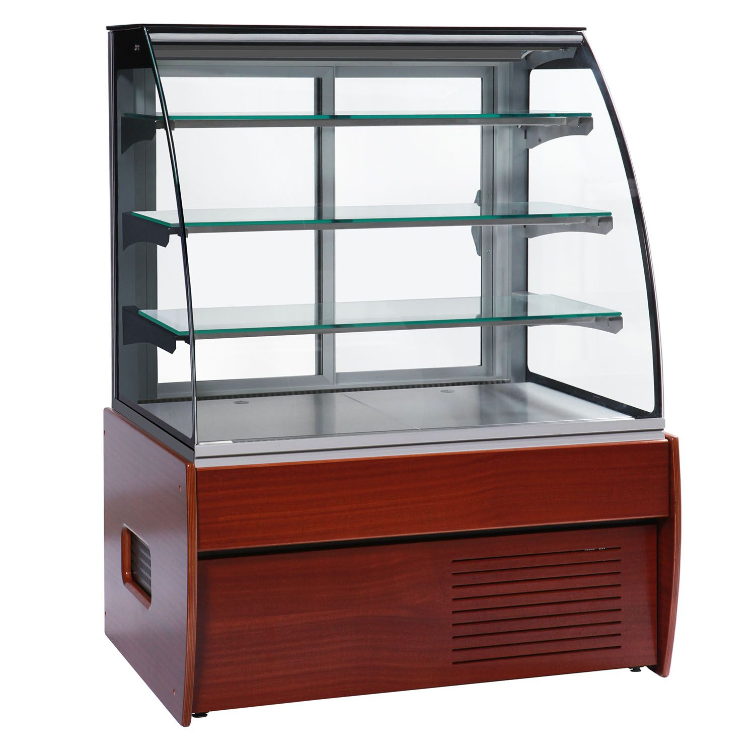 Bakery Display Cabinet Trimco Zurich Ii 100w Chocolate Display Cabinet Wood Finish
