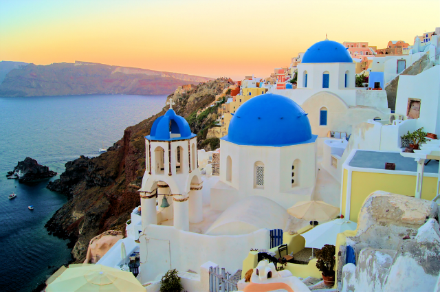 Famous for distinct architecture and sunsets that will blow you away, Santorini is a volcanic island... - Shutterstock