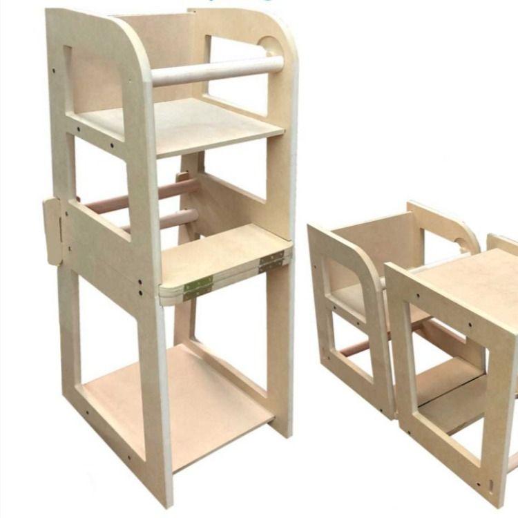 Silla De Comer Bebe Mesa Silla Infantil 2 En 1 Montessori Silla De Comer Bebe Mesas Y Sillas De Niños Sillas