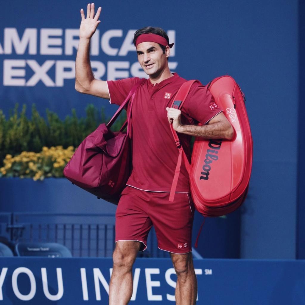 Rosa caldo Tenere  US Open Tennis on Twitter | Tennis racquet bag, Tennis racquet, Tennis