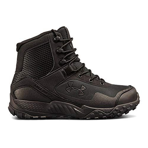 Photo of Under Armour Women's Valsetz RTS 1.5 Military and Tactical Boot, Black (001)/Black, 10