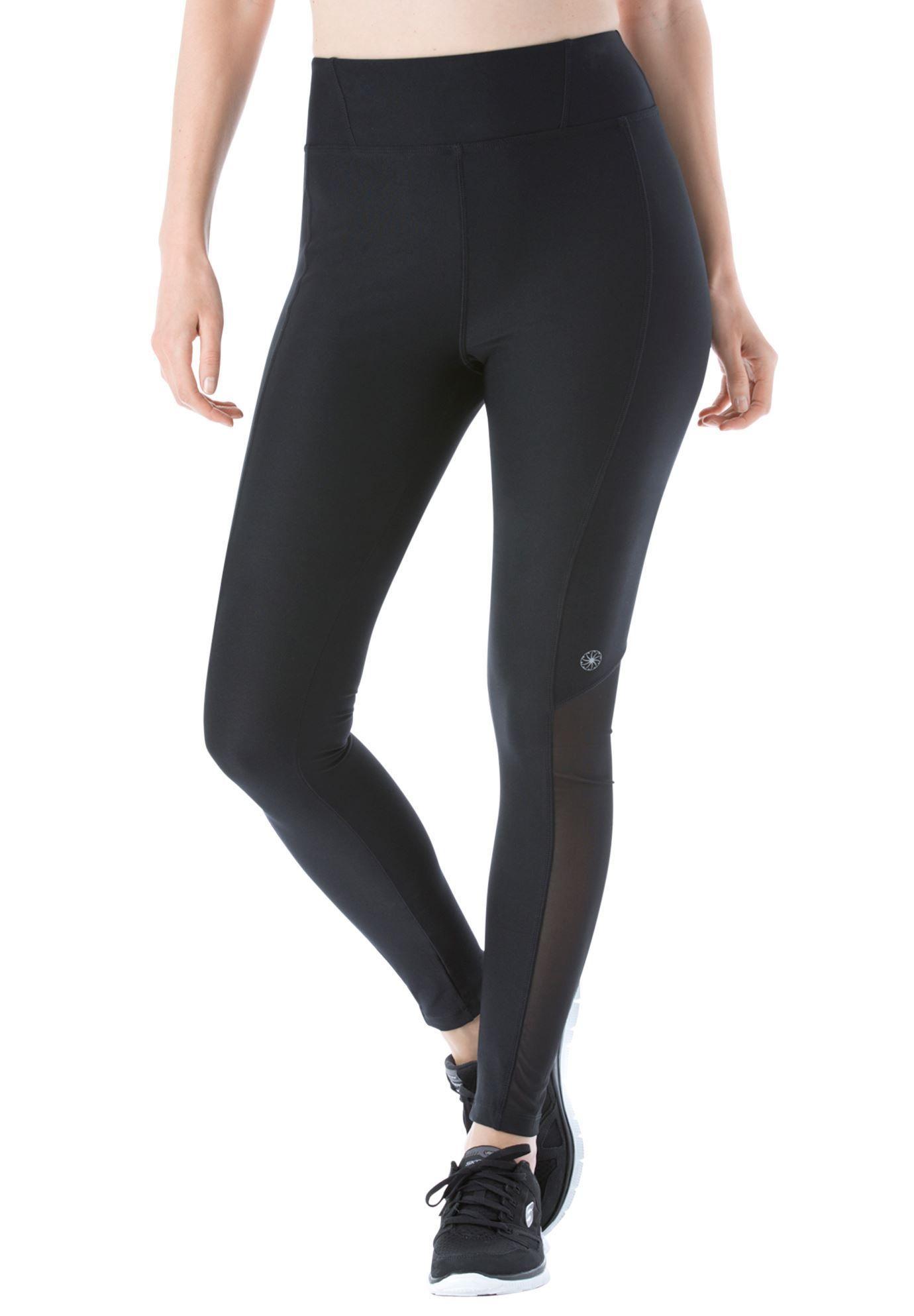 707166aa041 Mesh leggings by fullbeauty SPORT - Women s Plus Size Clothing ...