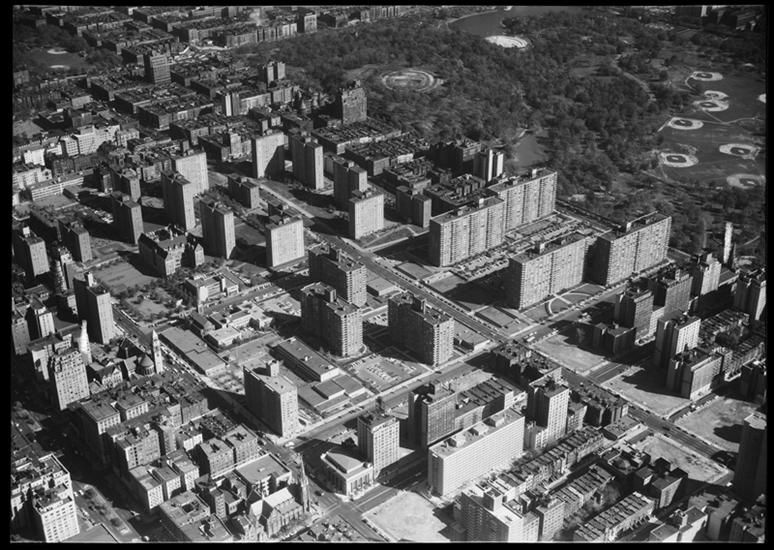 Park West Village Aerial View Looking N E From Near 97th Street